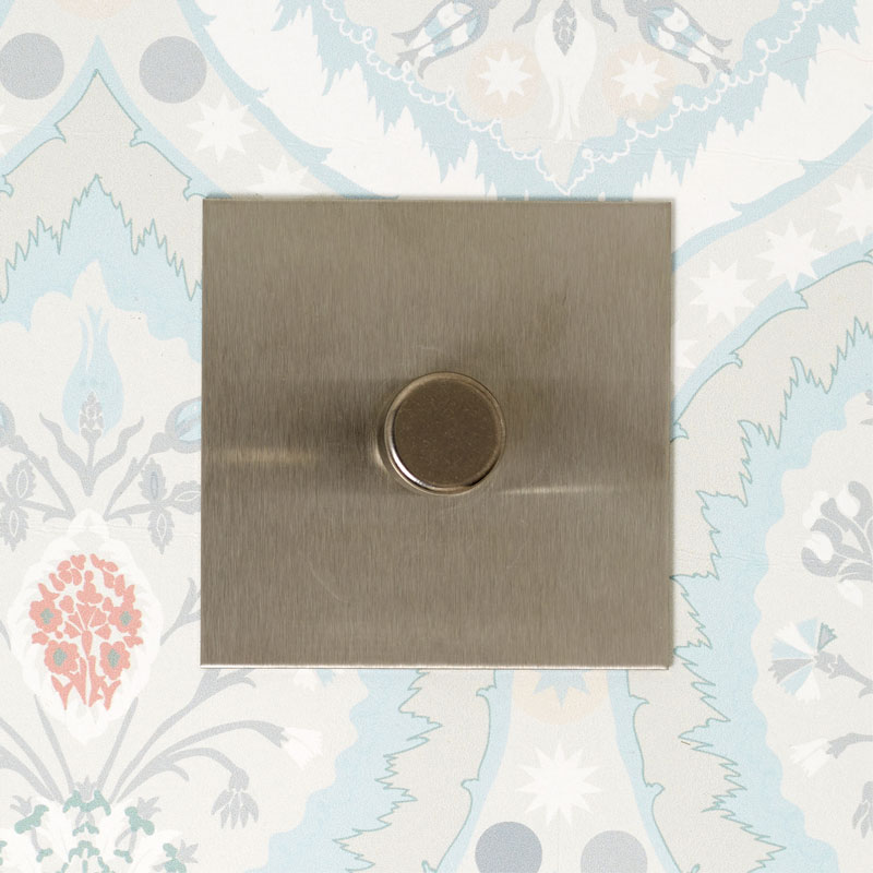 Stainless Steel 1-gang Dimmer Switch