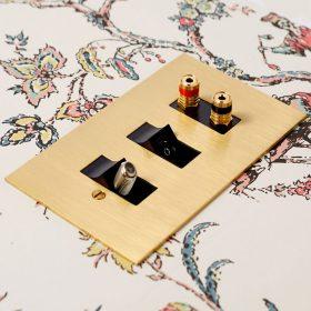 Unlacquered Brass Combination Range